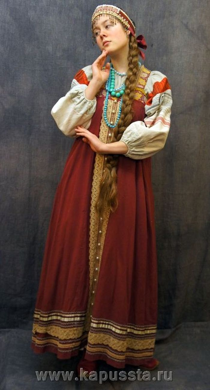 Borded dress with trim