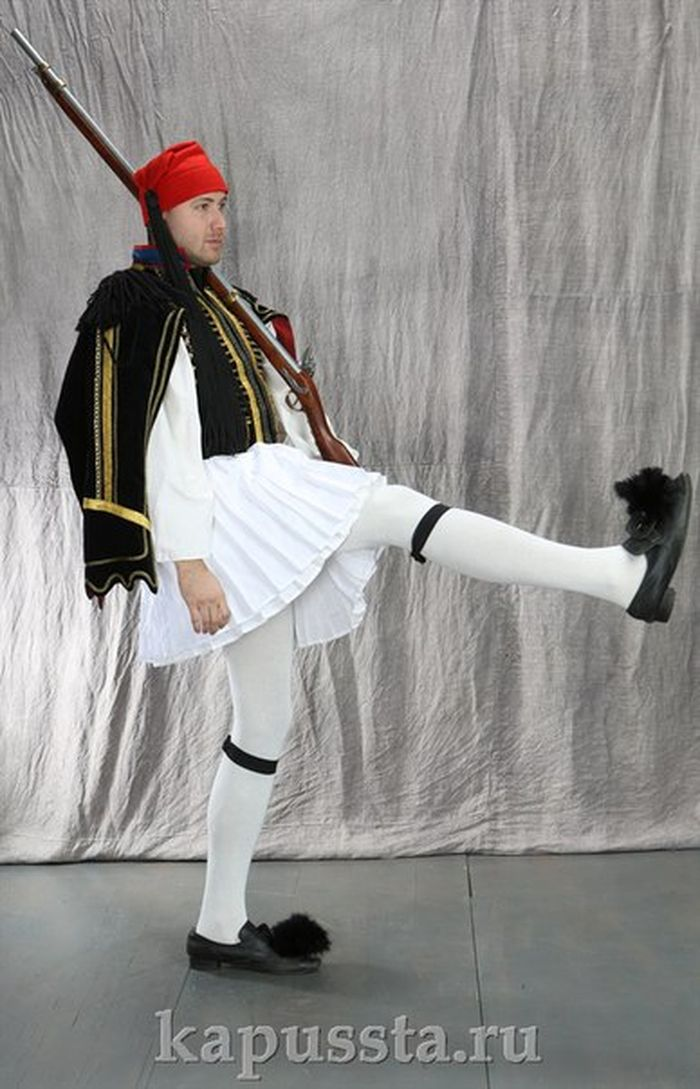 Costume of the Greek guard